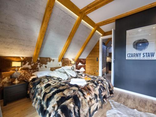 Apartament Mont Blanc sypialnia