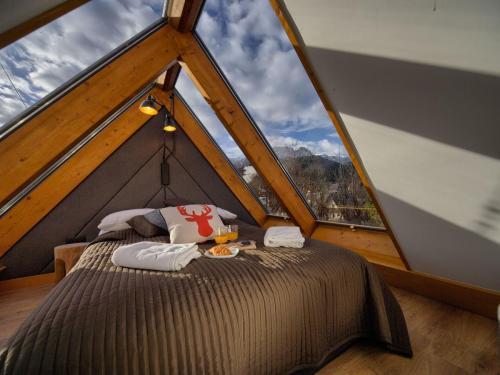 Apartament Mont Blanc piętro